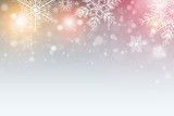 Christmas background with snowflakes - 171850973