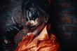 bloody clown man