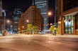 Broadway Through Downtown Denver Colorado