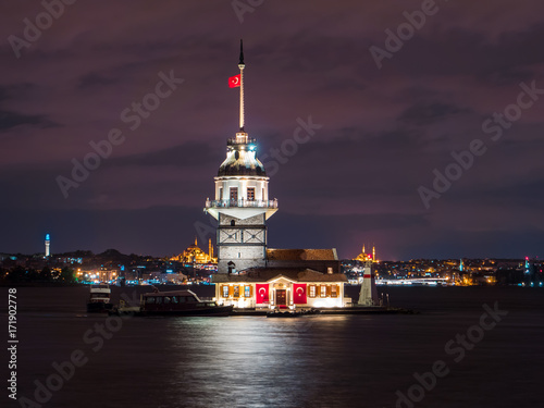 Night at the Maiden's Tower Poster