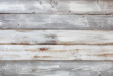 Reclaimed weathered white painted wooden boards