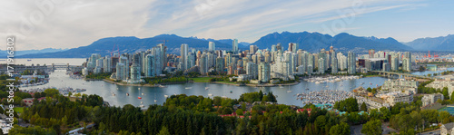 Foto Spatwand Canada Panorama of Vancouver B.C.
