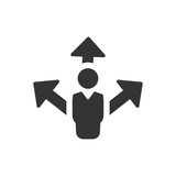 Business Direction Planning Icon - 171920903