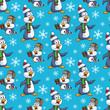 Penguins on Christmas Seamless Pattern - 171926581