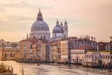 Old cathedral of Santa Maria della Salute in Venice, Italy