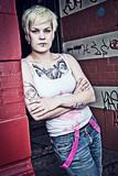 Streettattoo - Streetart - Tattoo - Women on the Street - 171958964
