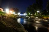 Lemgo Langzeitbelichtung Bega Fluss - 171962775