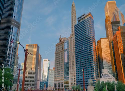 Poster Chicago Chicago Skyline