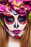 sugar skull girl - 171977398