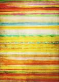 aquarell streifen muster bunt alt - 171998574