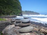 Hawaii Big Island Rock Stacking-13 - 171998939