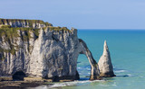 Cliffs of Etretat, Normandy,France - 171999516