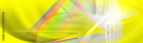 Leinwanddruck Bild - bittedankeschön : motion lines fluid liquid vibrant