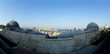 Panoramic view of bosphorus from Suleymaniye Mosque in Istanbul