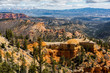 Bryce Canyon National Park, Utah Red Rock Pinnacles Hoodoos Trail