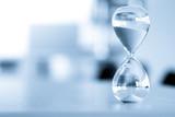 Sand clock, business time management concept - 172025794