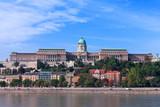 Buda Palace on a beautiful summer's day - Budapest, Hungary.