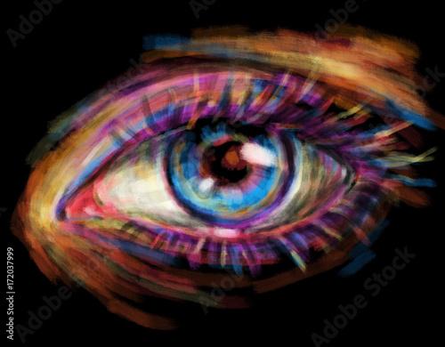 Eye.Digital art