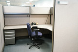 cubicle and office furniture in office room - 172042778