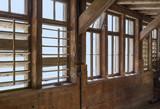 wooden window scenery
