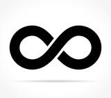 infinity icon on white background - 172046182