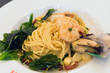 Spicy Spaghetti Shrimp