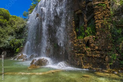 Foto op Plexiglas Nice Waterfall in Nice France