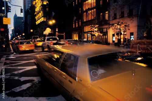 Poster yellow cab new york 1994