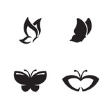 Butterfly vector logo