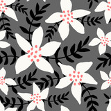 Winter Seamless Pattern - 172051935