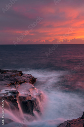 Foto op Plexiglas Zee zonsondergang hawaiian sunset