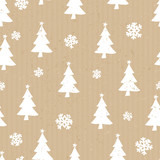 Craft Paper Christmas Pattern - 172057900