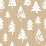 Craft Paper Christmas Pattern - 172058566