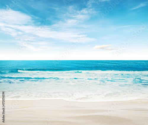 Fotobehang Tropical strand Tropical paradise beach