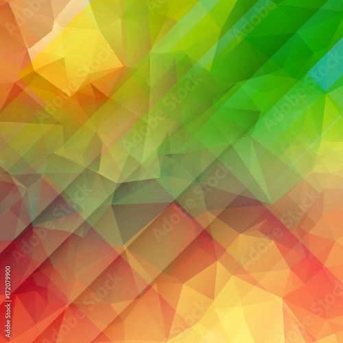 Fotobehang Geometrische Achtergrond Colorful abstract background for web design