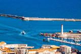 vue du Mont Saint Clair sur la port de Sète - 172129332