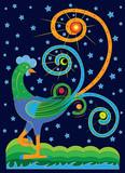 Fantastic star rooster - 172129725