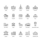 collection of touristic icons - 172151146