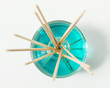 Quadro Esencia azul aromaterapia