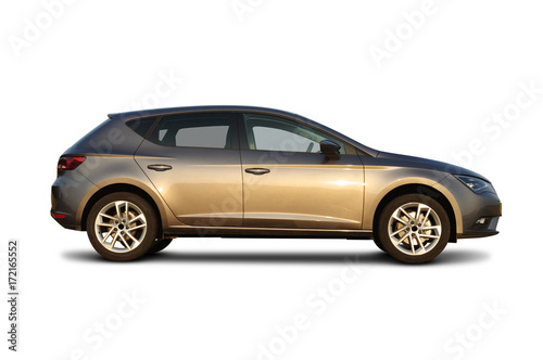 car isolated on white - 172165552