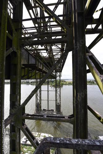 mata magnetyczna Karniner Eisenbahnbrücke