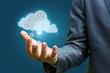 Cloud data in hand .