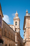 Architecture in the ancient city of Mdina, Malta