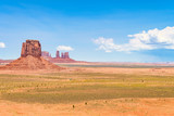 buttes landscape at monument valley