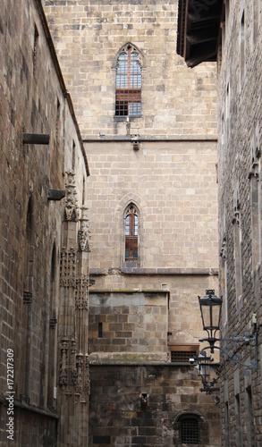 Fotobehang Barcelona Barri Gotic quarter
