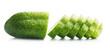 Fresh sliced cucumber. - 172220507