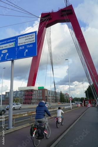 Fotobehang Rotterdam Pont Rotterdam
