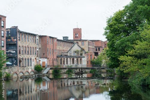 Keuken foto achterwand Oude verlaten gebouwen Abandoned cotton mill