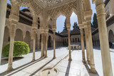 Decoration of the Alhambra Palace, Spain