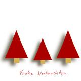 Frohe Weihnachten Tannenbaum Weihnachtsbaum Christbaum Gruß Text